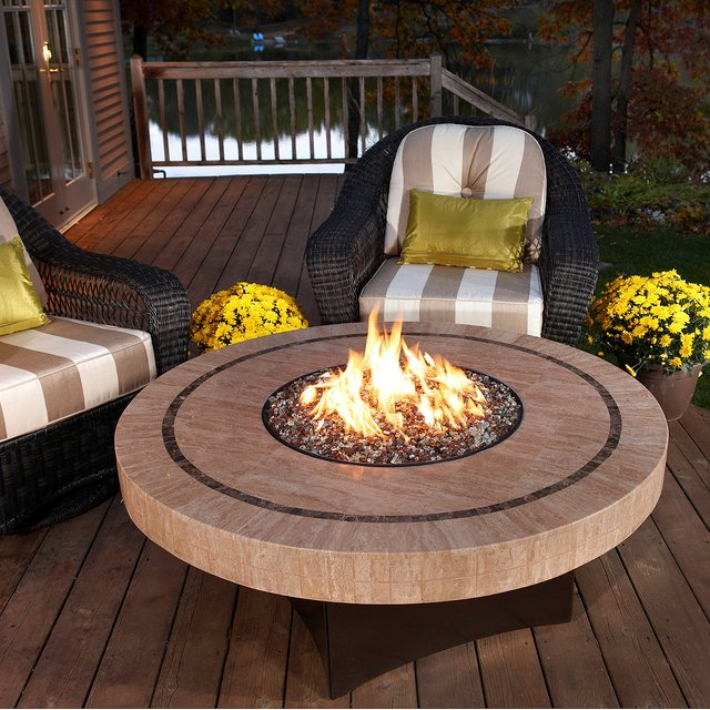 Oriflamme Sahara Fire Table. Price: $3,450.
