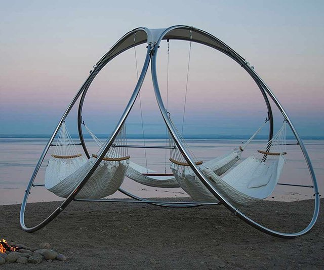 Infinity Hammock by Trinity Hammocks. Price: $6,000.