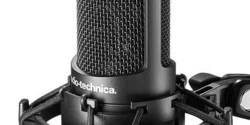 AT2050 condenser microphone