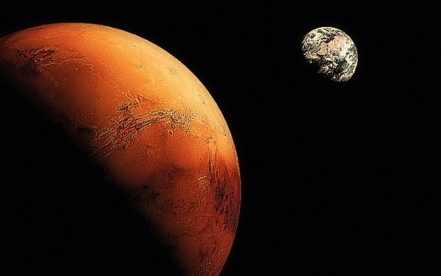 A recent study suggests that human life emerged on Mars ...