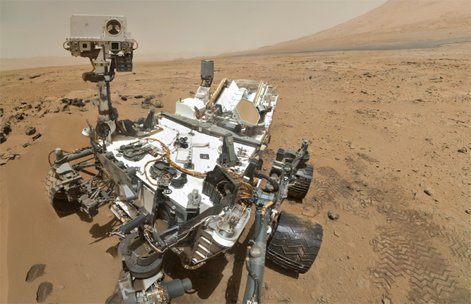 SAM Curiosity Mars