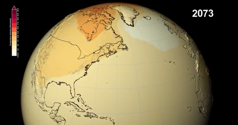 Climate Change in the 21st Century According to NASA