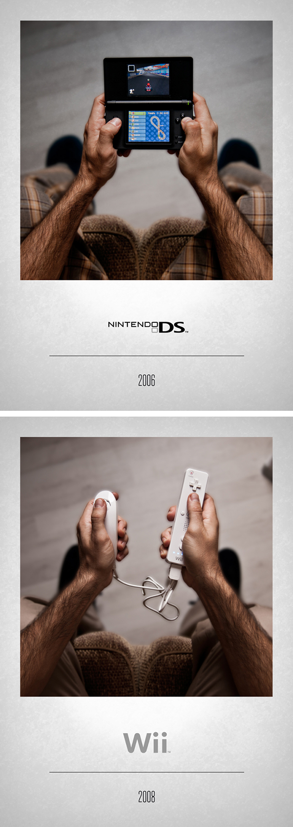 Nintendo DS controller