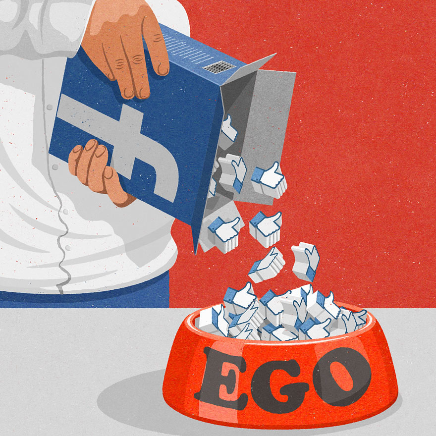 Satirical drawings about our society by John Holcroft (1)