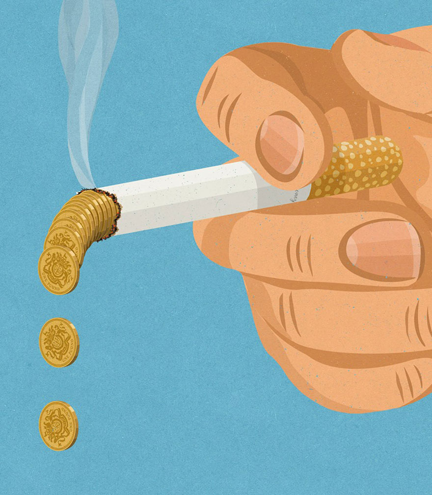 Satirical drawings about our society by John Holcroft (8)