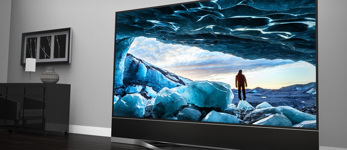 Vizio Reference Series CES 2015 120 inch display