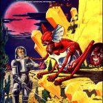 Retro Sci-fi magazine cover artworks