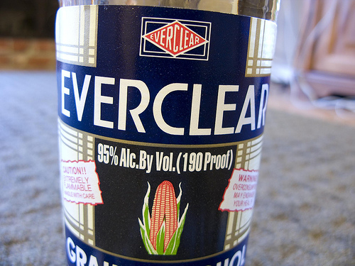 Everclear Alcoholic Level
