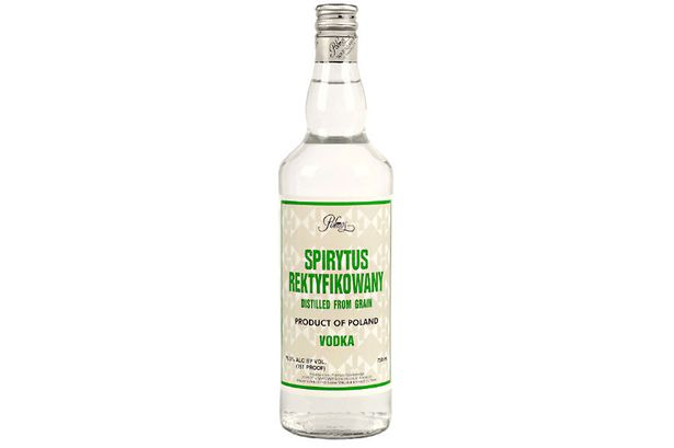 Spiritus Rektyfikowany alcohol level by volume