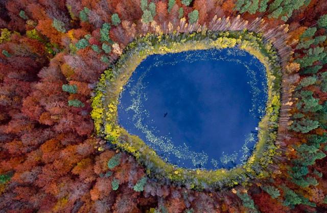 17 City View Lake in Pomerania Poland