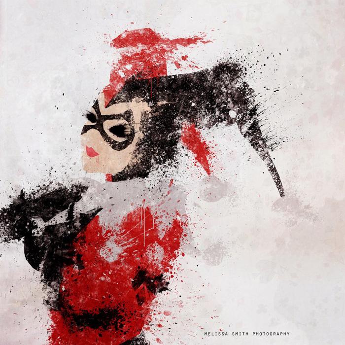 Astonishing DC Splatter Artworks (1)