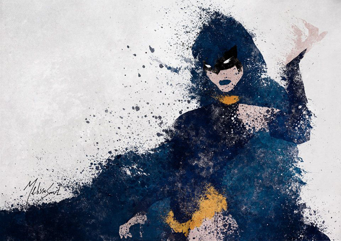 Astonishing DC Splatter Artworks (10)