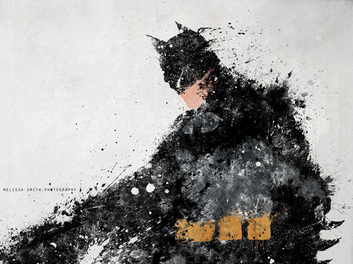 Astonishing DC Splatter Artworks (2)