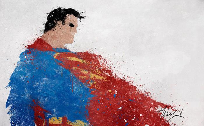 Astonishing DC Splatter Artworks (4)