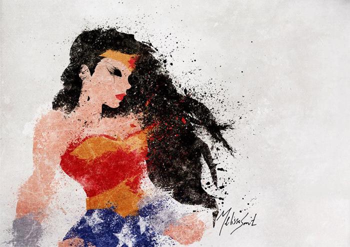 Astonishing DC Splatter Artworks (5)