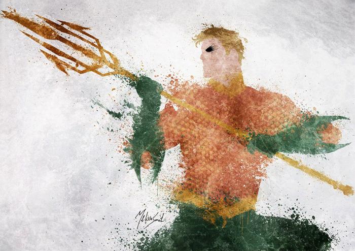 Astonishing DC Splatter Artworks (8)
