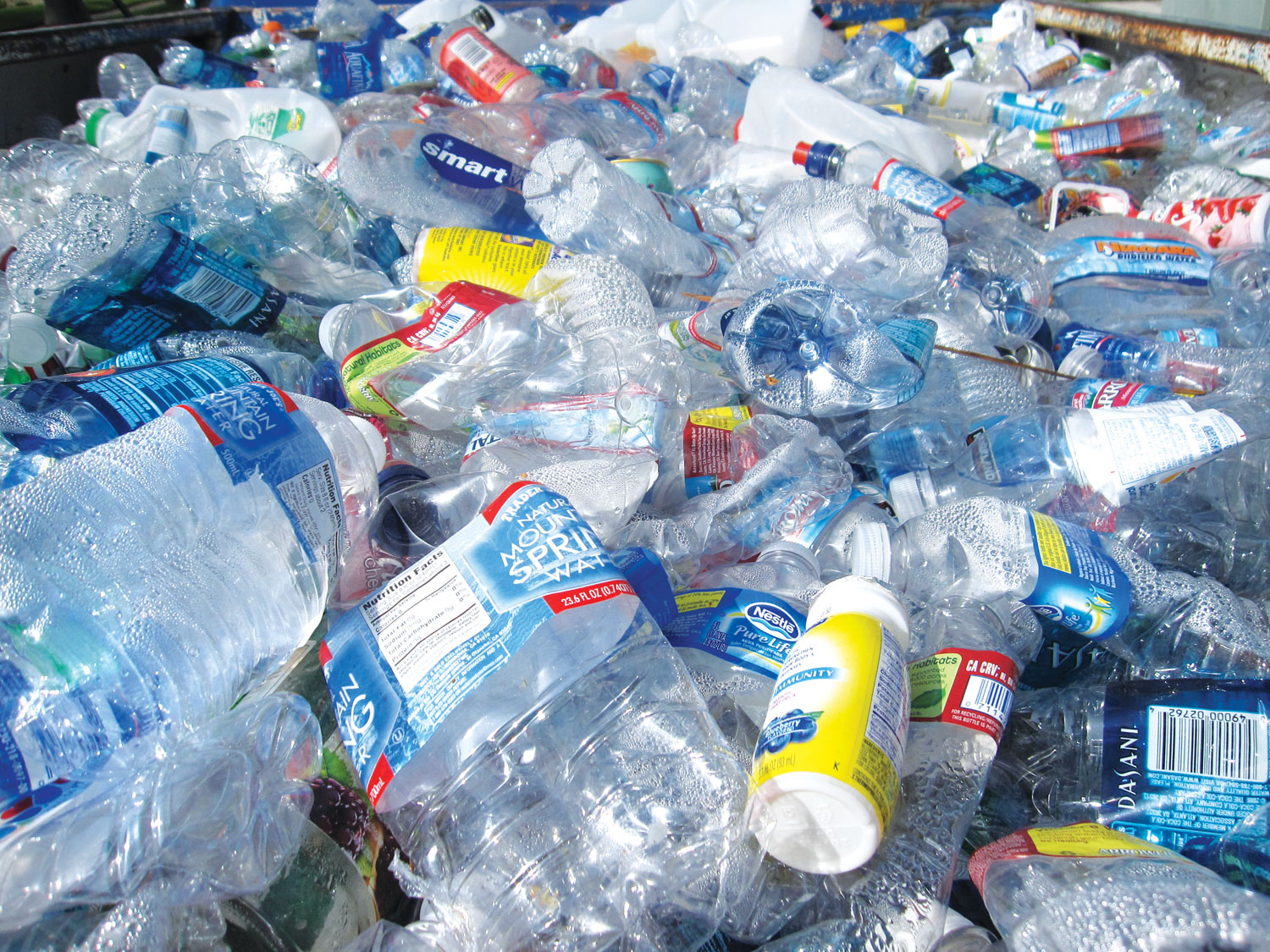 plastic waste Americans discard about 336 million tons of plastic each year, but only 95 percent of it is recycled and 15 percent is combusted in waste-to-energy facilities what happens to the rest of it.