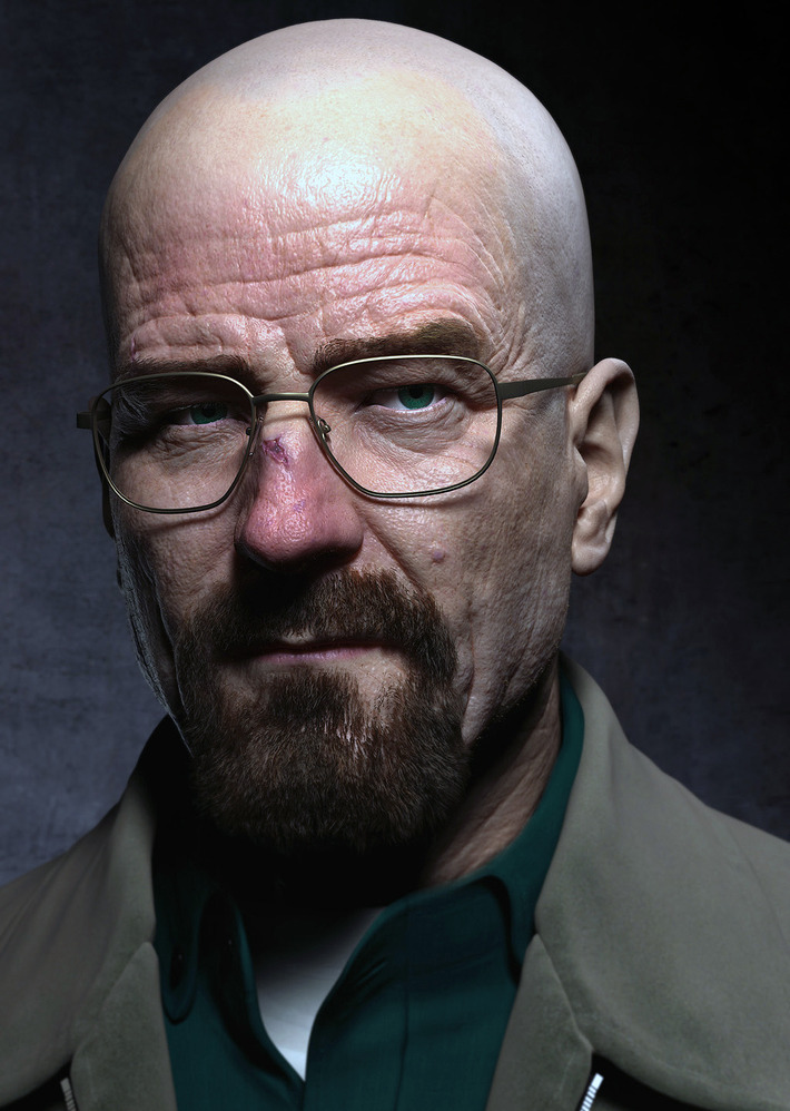 My Walter White version model in Breaking bad
