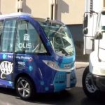Self-driving bus involved in crash on its first day
