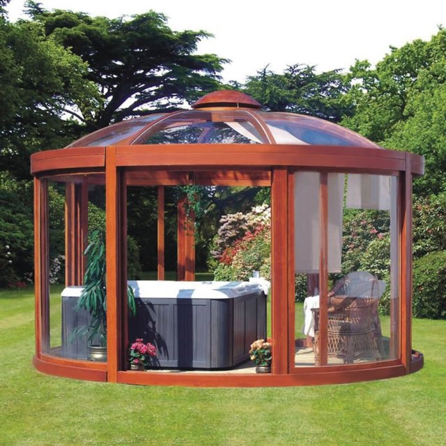 Scandinavian Backyard Gazebo. Price: $37,000.