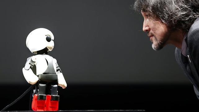 Kirobo astronaut talking robot