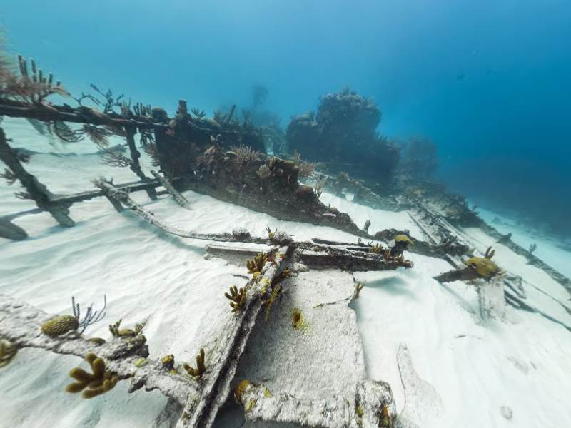 Mary Celeste Wreck in Bermuda