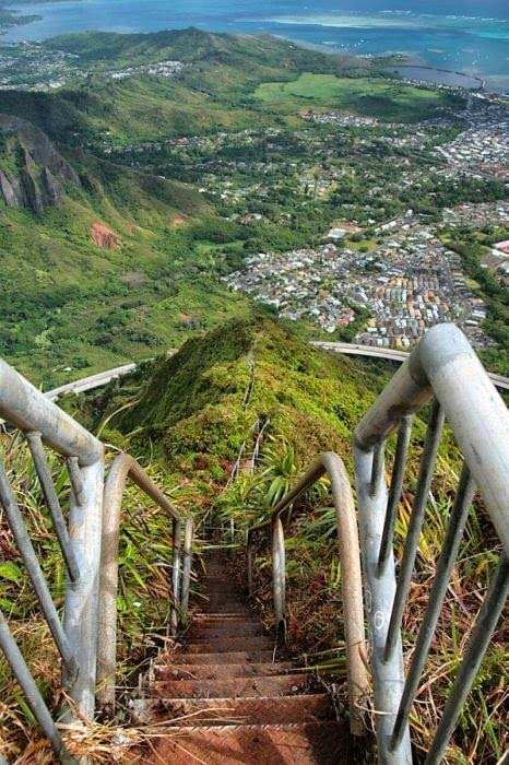 Haiku Stairs in Hawaii (4)