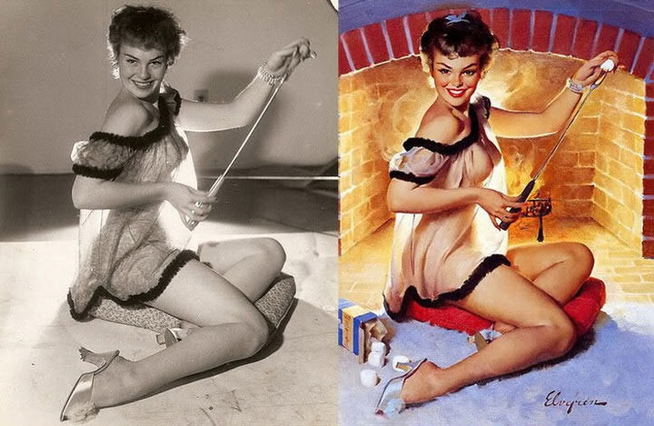 Pinup Arts vs Original (10)