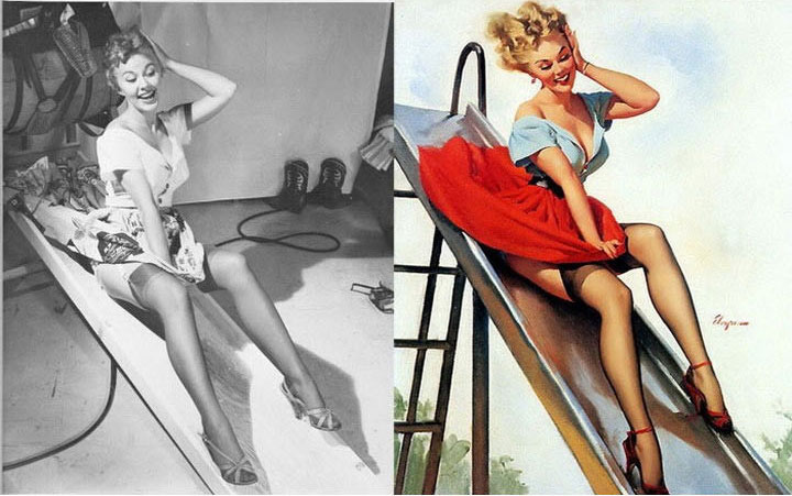 Pinup Arts vs Original (4)