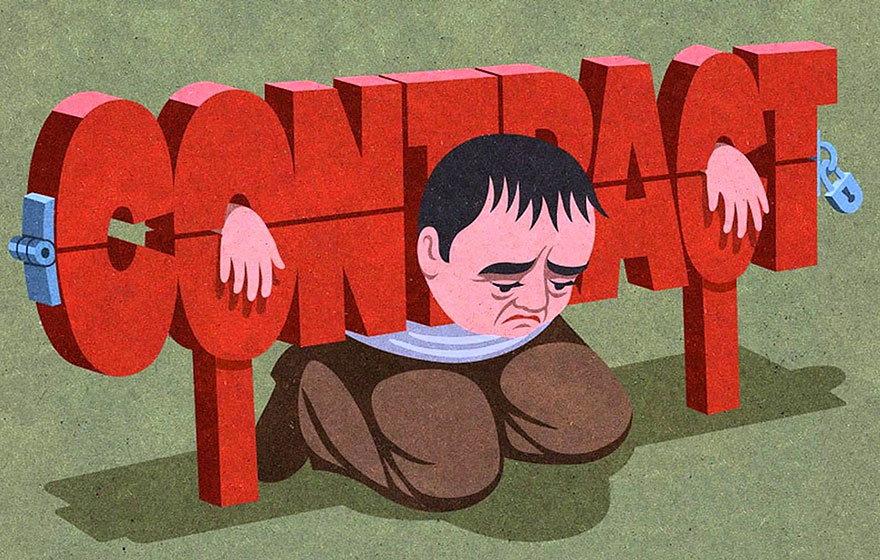 Satirical drawings about our society by John Holcroft (13)