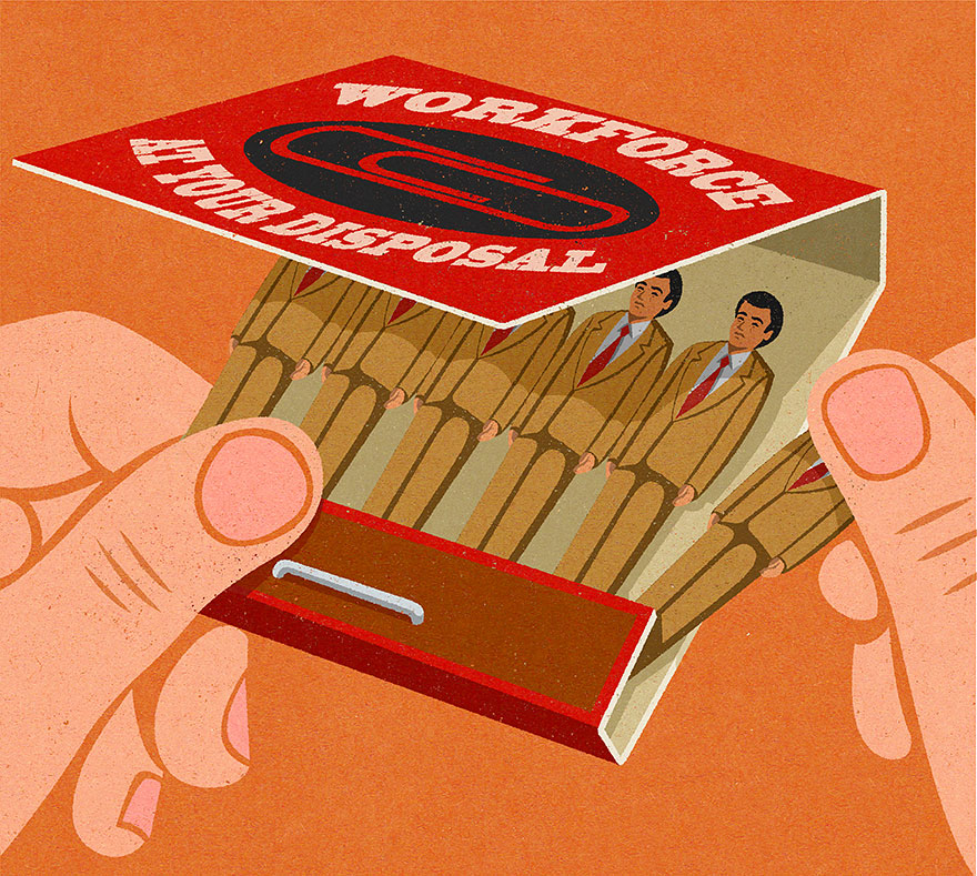 Satirical drawings about our society by John Holcroft (5)