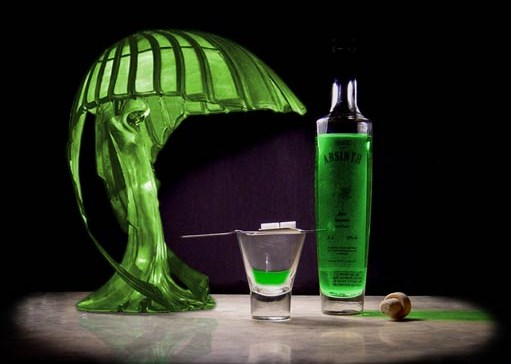 absinthe alcohol content