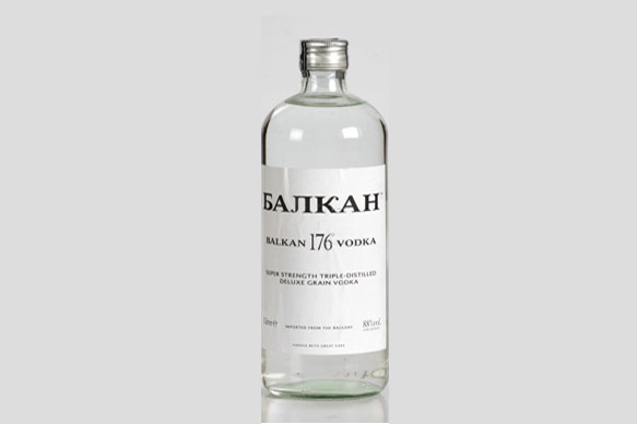 balkan 176 vodka alcohol content by volume
