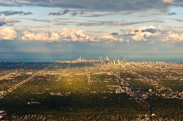 1 City Views Chicago Skyline USA