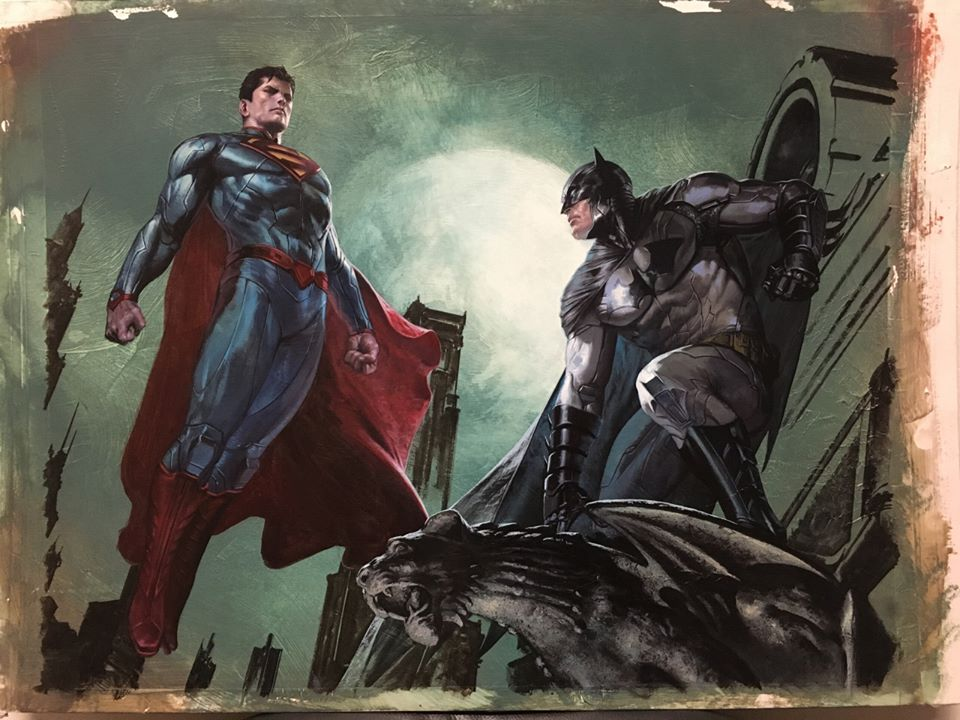Batman v Superman Artwork 6