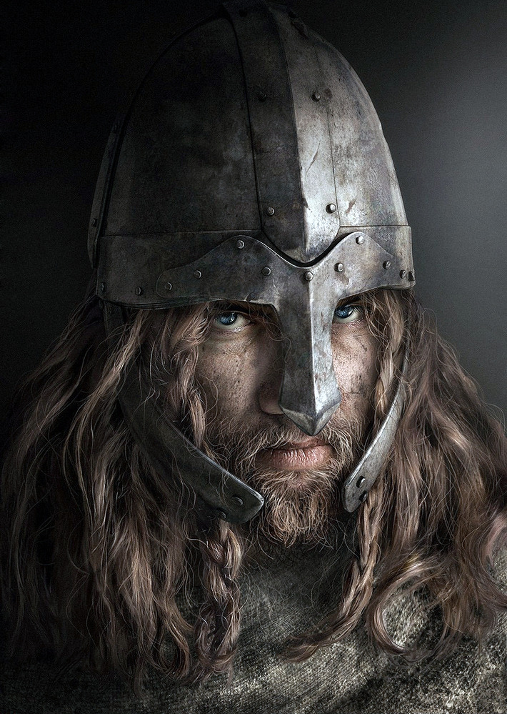 3D Rendering Silvia Fusetti Barbarian Warrior